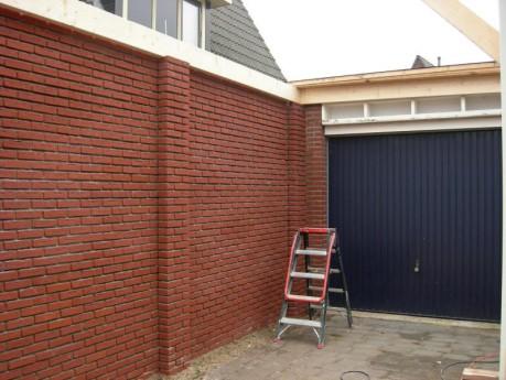 Uitbreiding garage Kamgras